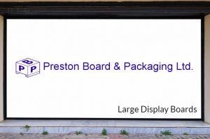 large display board