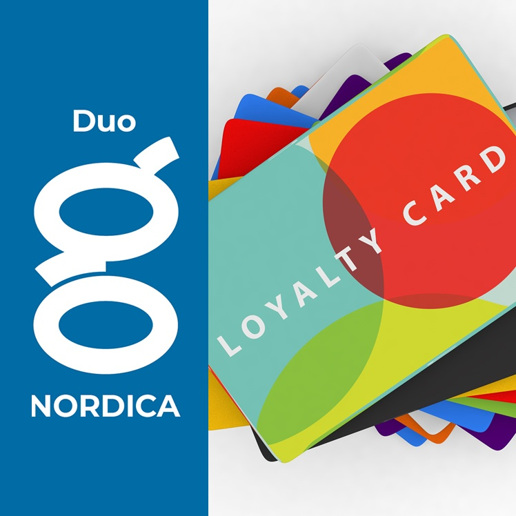 nordica Duo loyalty card