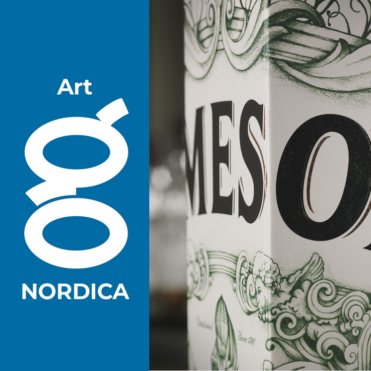 nordica art with logo