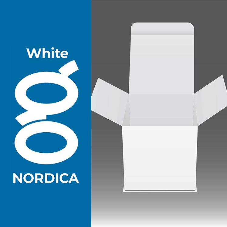 nordica white with logo